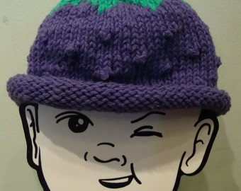 Boysenberry Baby Cap