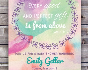 baby shower invitation bible verse baby shower invite church shower