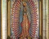 Virgin of Guadalupe, Mixed Media