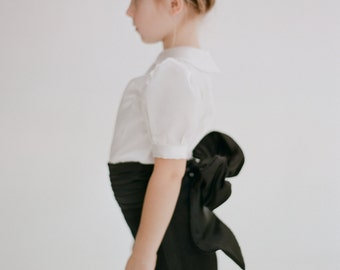 Coco Flower Girl Tux Shorts & Blouse