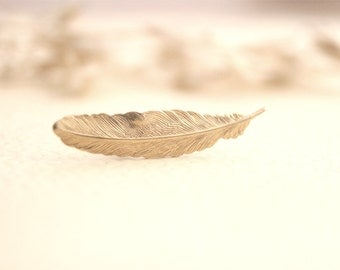 Gold Feather Ring // Tribal Ring // Bohemian Gold Feather Ring // Bridesmaid Gifts // Vintage Wedding