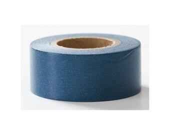 Navy Solid, Mark's Basic, Nostalgic Warm, Japanese Washi Paper Masking Tape, Adhesive Tape, Collage, Wrapping, Journal Decoration, Planner
