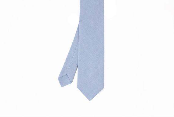 Florent - Blue Cotton Men's Tie