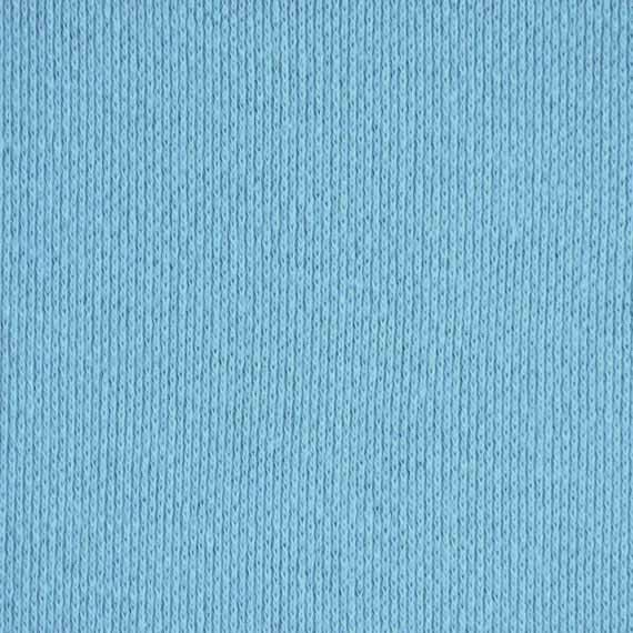 Circular Knitting Fabric : Sky blue jersey knit fabric lightweight cotton by
