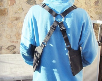 HOLSTER BAG // Black or Brown // Adjustable