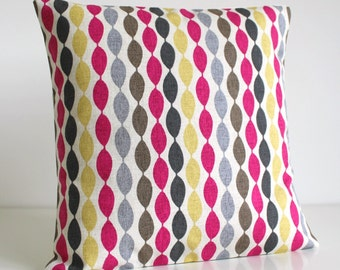 Pillow Covers, 18 Inch Cushion Cover, Throw Pillow Cover, 18 Inch Pillow Sham, Pillow Cover, Sofa Pillow, Couch Pillow - Gemstone Fuchsia