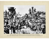 American History, Digital Print, Steampunk, Robot Art, Railroad art, Robots, Vintage photo, Geekery, Alternate Histories, Wall Art