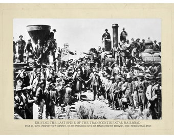 American History, Digital Print, Steampunk, Robot Art, Railroad art, Robots, Vintage photo, Geekery, Alternate Histories, Wall Art