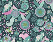 Foxtrot in Dusk PWTP045 - Tula Pink  FOX FIELD - Free Spirit Fabric - By the Yard