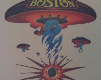 BOSTON 1977 tour T SHIRT