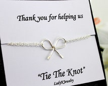 Wedding Thank You Gift For Sister : ... Gifts Sister Best Friend Dainty Jewelry Thank You Message Card