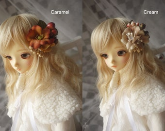 Flower Beads Hair Clip for BJD SD Dolls 2 Colors Available