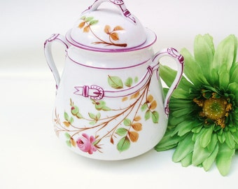 Antique Canister | Biscuit Jar | Ice Bucket | Porcelain Cookie Jar | Belt Buckle | Lidded Container