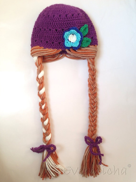 Items similar to Icey Princess Rapunzel Hat on Etsy