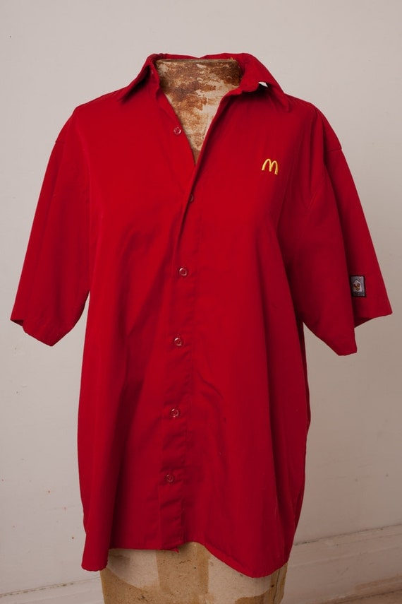 Mc Donalds Uniform 12