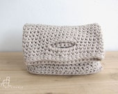 Crochet purse, sleeve, bag, little tote - LÆBL