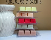 5 Scented Wax Melts - Choose Any 5 Soy Wax Tarts