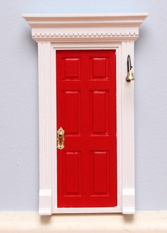 Red fairy door tooth fairy door for Red elf door