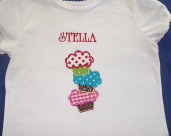 Applique and personalized T shirt