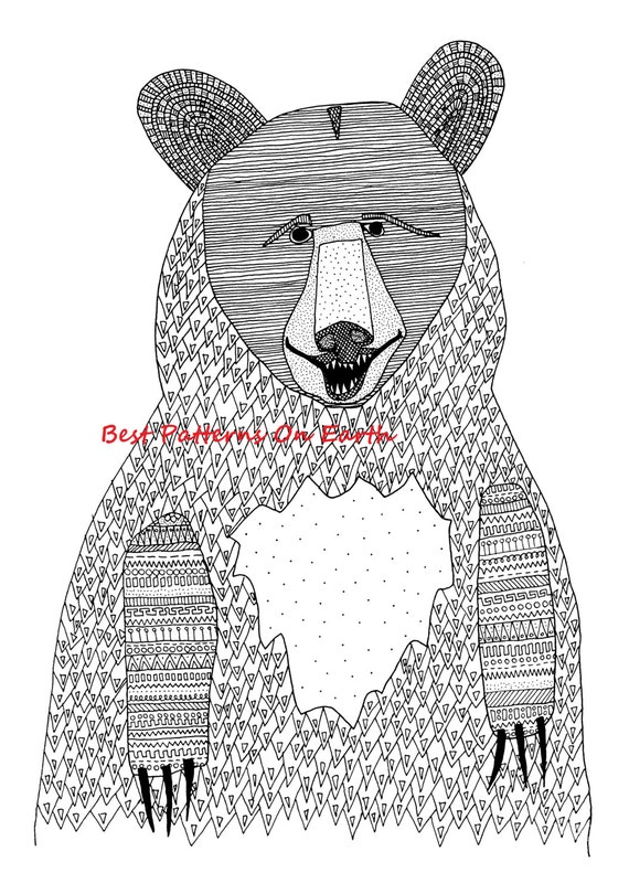 free zen animal coloring pages - photo#20