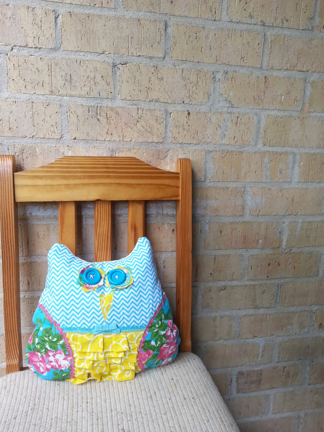 Owl Throw Pillow Etsy : Decorative Owl Throw Pillow by MonstarBoutique on Etsy