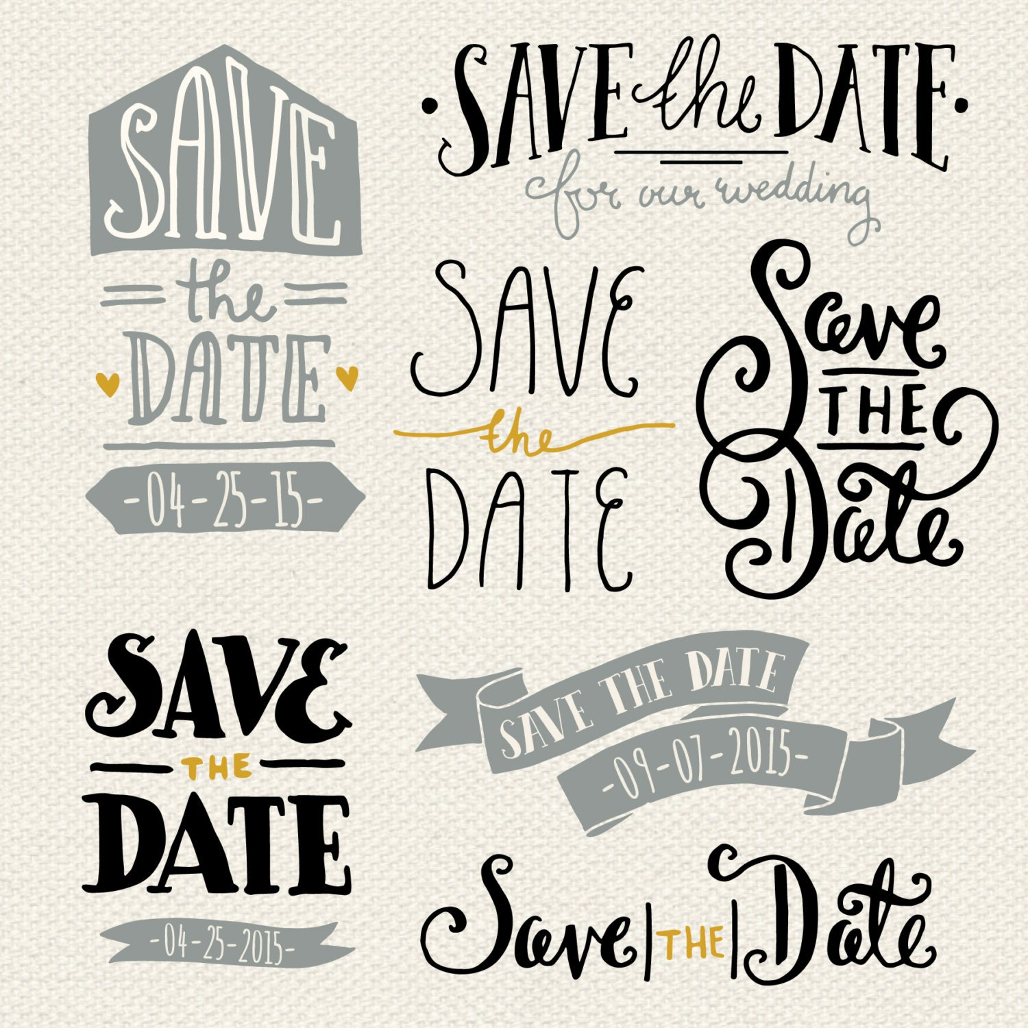 Save the date overlays 1 photoshop psd by thepenandbrush for Save the date vector