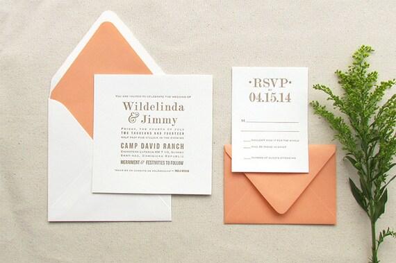 Die Amaryllis Suite Buchdruck Hochzeit Einladung Probe, Einladung