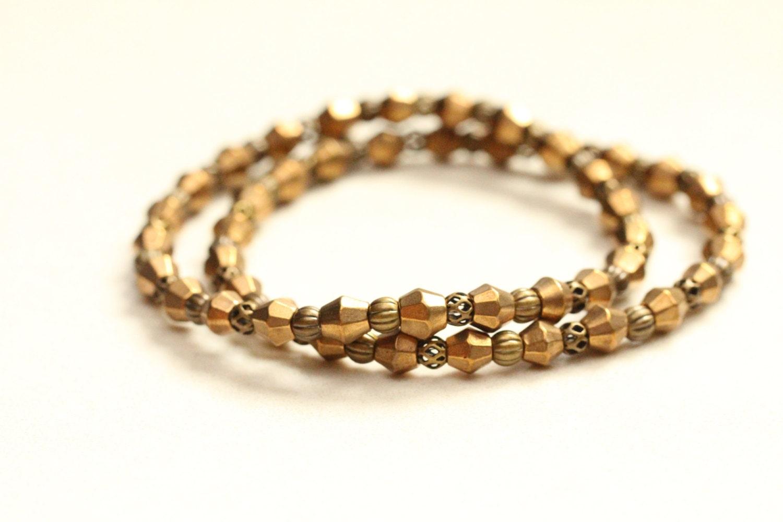 boho chic brass jewelry boho chic bracelet by shagbarkroad