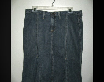 Size 6 The Limited Jeans - Stretch Denim Gypsy Pleated Skirt