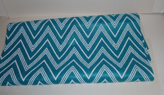 Felt sheet teal chevron craft supplies white and teal sewing fabric