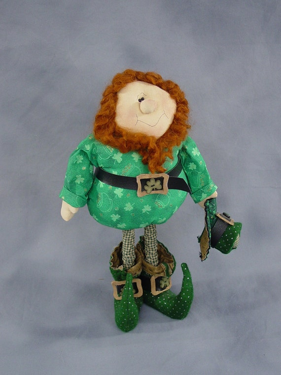 "Pattern: Paddy - 19"" Leprechaun"