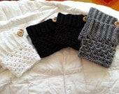 Handmade Crochet Boot Cuffs