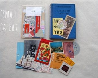 Small Instant Collage Kit- lucky dip vintage ephemera / Scrapbooking / Decoupage / Mail Art