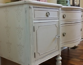 SOLD - Vintage Painted/Refinished Sideboard or Buffet