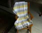 3 Skein Crochet Baby Afghan Pattern Instant Download