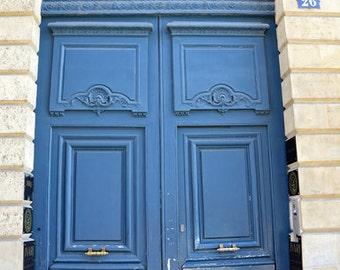 Paris Photography, Doors in Paris, Paris Blue Door Wall Art, Paris Prints, French Door Decor, Paris France doors, Paris Fine Art Photography