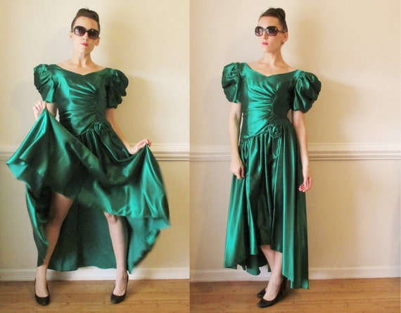 Reserved for a party cocktail ball gown 1980s bridesmaid for Ugly wedding dresses for sale