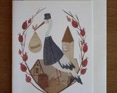 Card- Stork