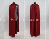Versatile Fantasy Cape with Sword Buttons - Four Plus Ways to Wear It - Color Options