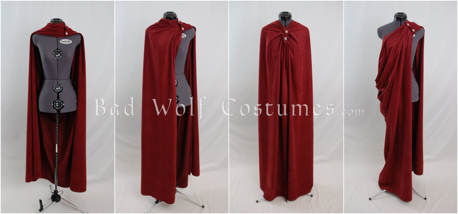 Versatile Fantasy Cape With Sword Buttons Four Plus Ways To