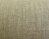 Linen Canvas Cloth, Unbleached/Natural Colour - fabric sold by the half yard