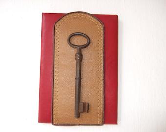 Beautiful and decorative old key