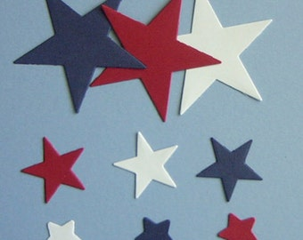 63 Star Die Cuts