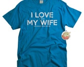 Scuba Diver Shirt for men funny scuba diving gifts t shirt gift for him gift for husband gifts for divers I LOVE it when MY Wife®