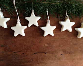 Scented Wax Star Ornaments