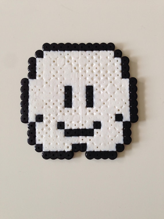 nuage de super mario bros fusible perle pixel art. Black Bedroom Furniture Sets. Home Design Ideas
