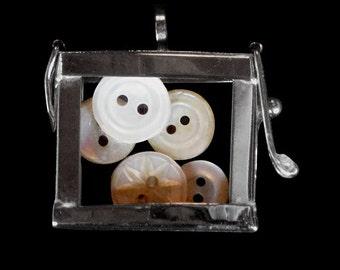 Antique Button Keepsake