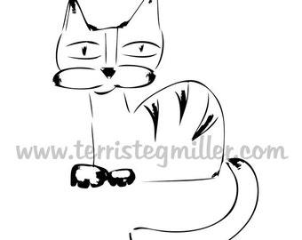 Thermofax Screen - Cat