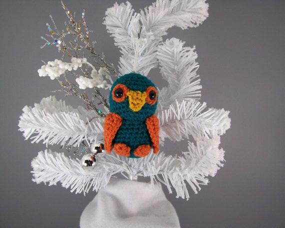 Amigurumi Crochet Christmas Ornaments : Christmas Ornaments animal crochet amigurumi owl