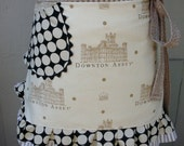 Downton Abbey Aprons - Handmade Womens Aprons - Annies Attic Aprons - Downtown Abbey Aprons